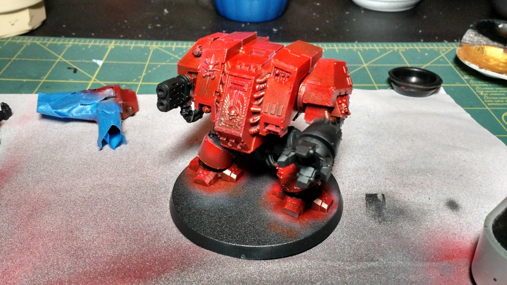 Dreadnought Tinted Red