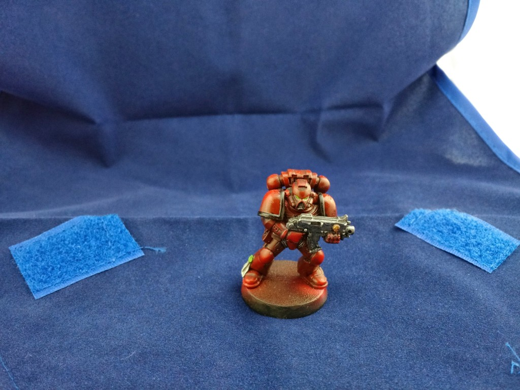 Blood Angel Tactical Marine with Zenith Highlighting